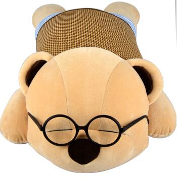 趴趴熊音乐抱枕夏季款【大号】 生日礼物 创意礼品 520情人节礼物 毛绒玩具娃娃