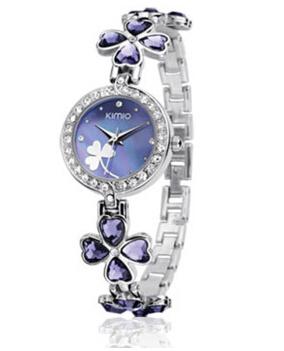 apphome 情人节创意礼品实用生日礼物送女生女友朋友闺蜜老婆特别浪漫手表 紫色