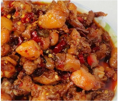 四川美食自贡特产休闲小吃零食麻辣香辣冷吃兔冷香兔肉兔丁
