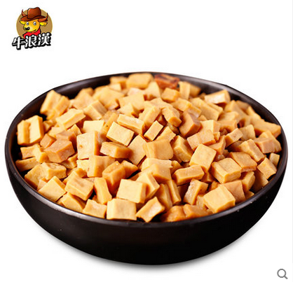 重庆特产牛浪汉颗颗香干500g 可可香豆干好吃耐嚼 四川零食小吃