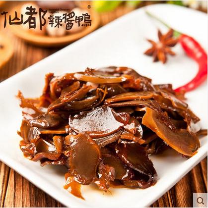 仙都辣酱鸭胗辣鸭肫 湖南特产 休闲零食 醴陵特色小吃