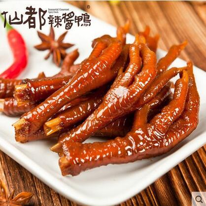 仙都辣酱小鸡爪 香辣小鸡爪 嘬不完的美味 湖南醴陵特产 休闲零食