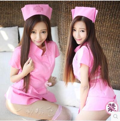 性感开衩护士服套装DS角色扮演夜店装真人诱惑情趣内衣制服